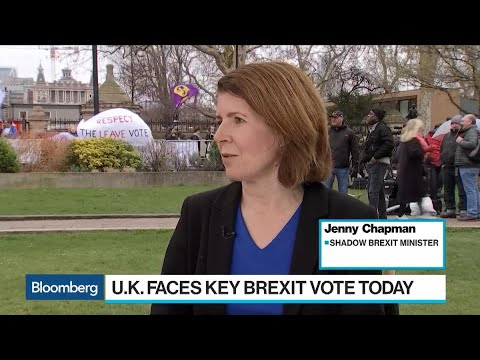Labour's Chapman Says May's Brexit Deal Will Fail Parliament Vote