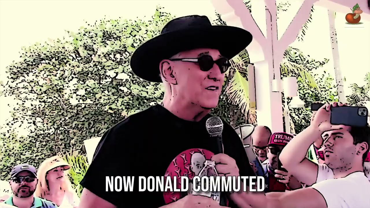 THE SALAD OF ROGER STONE - Parody of The Ballad of Molly Malone   The Freedom Toast / Cinebot Video
