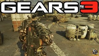 Gears of War 3 - Lambent Drudge Gameplay! (Gears of War PC Mods)