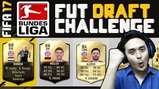 FIFA 17 (Hindi) FUT DRAFT #3 - Bundesliga Challenge Ft. TOTW Robben