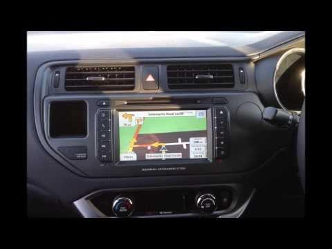 Kia Rio 2013 Custom Media Navigation Premium system