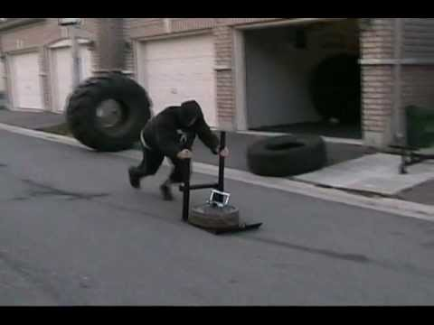Our New Push Pull Weight Sled Youtube