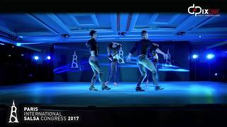 ABDA DANCERS & Depo- Paris Salsa Kongresi 2017 Group Aura   Turkey
