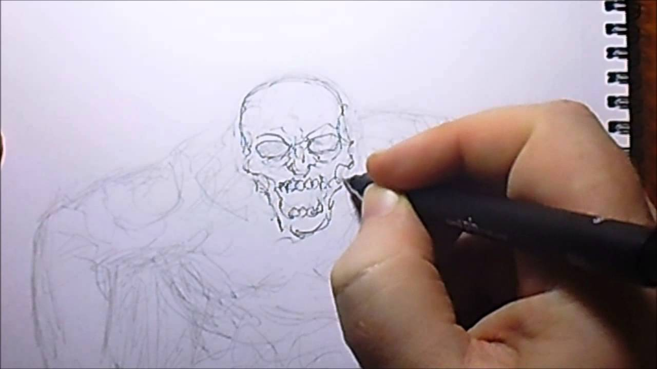 planning a zombie coloring page design youtube