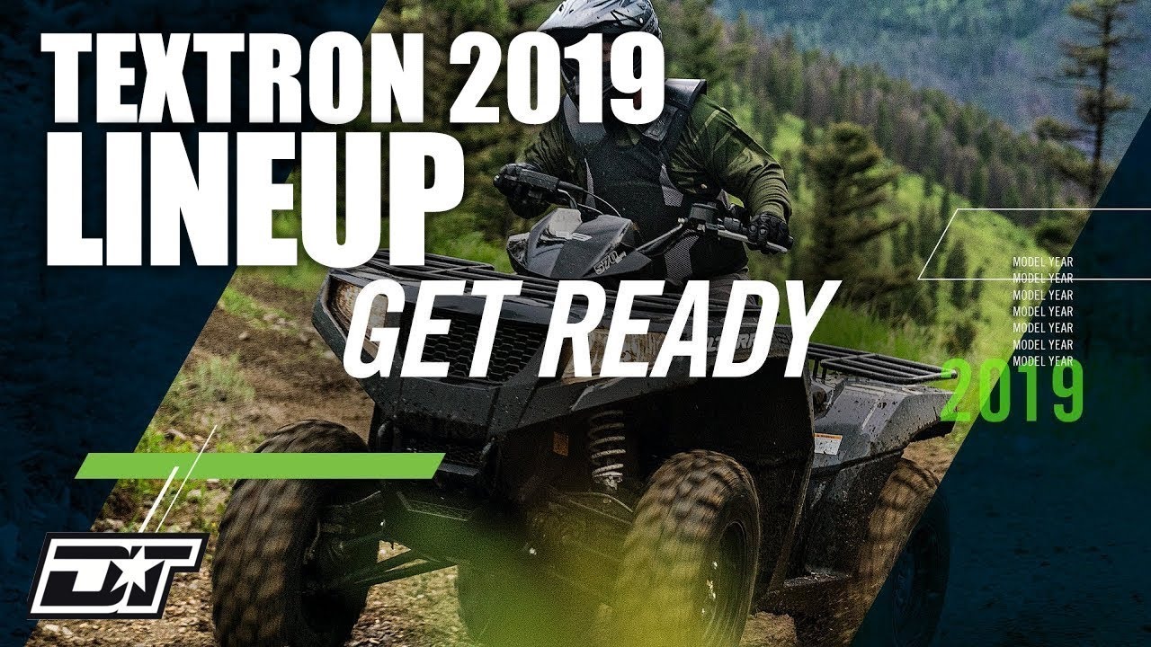Get Ready for Textron Off Road in 2019