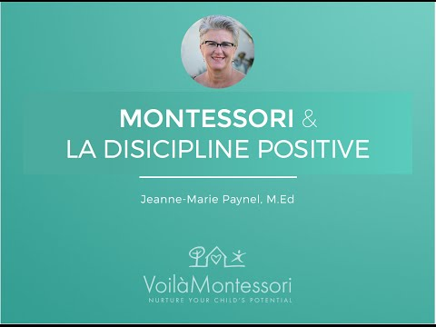 Montessori et la Discipline Positive