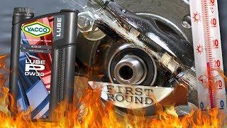Yacco Lube P 0W30 Jak skutecznie olej chroni silnik? 100°C
