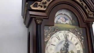Натенные часы с четвертным боем, механизм Hermle(, 2016-04-12T16:38:57.000Z)