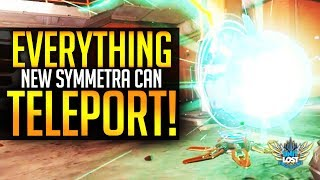 Overwatch - Everything New Symmetra Can Teleport!