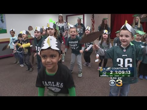 Bensalem Christian Day School Students Perform Fly Eagles Fly