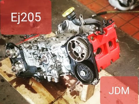 Subaru Impreza WRX wagon Ej205 JDM engine swap (part 1)