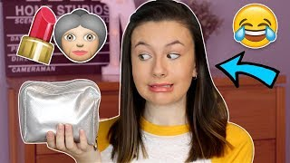 Full Face using only my GRANDMA'S Makeup! ♡