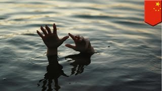 Love triangle drowning accident: Man's girlfriend drowns herself as he attempts to save his ex