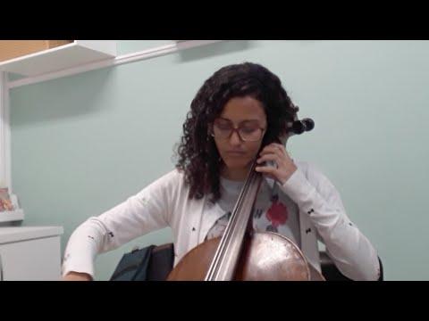 Aula Aberta De Violoncelo - Aluna Kelly Santos