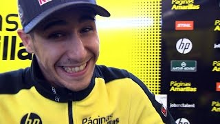 Off-Track: Salom's smile