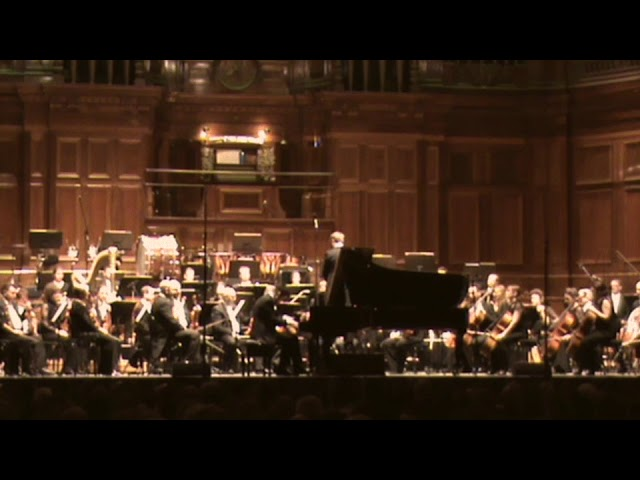 Kristian Chong - Saint Saëns 2nd Piano Concerto  - Opening