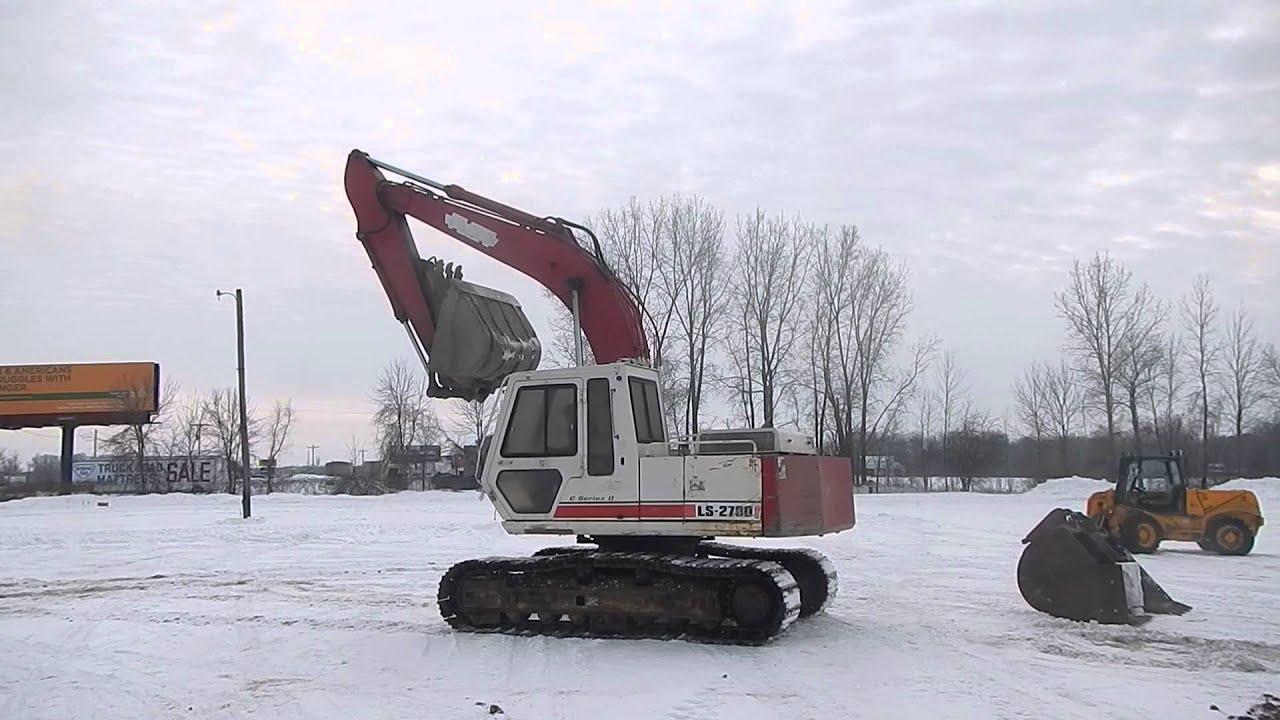 link belt model ls 2700 c series ii excavator lot 2 372469 on 3 3 rh youtube com Harman Kardon AVR 2650 Intex 2650 Sand Filter