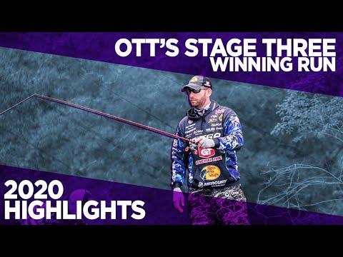 Ott DeFoe's Stage Three Winning Run | Bass Pro Tour 2020 Highlights