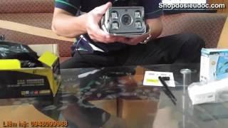 Mở hộp- đánh giá Camera Ip outdoor chuyên dụng ngoài trời Wifi-C4-W100L Yoosee