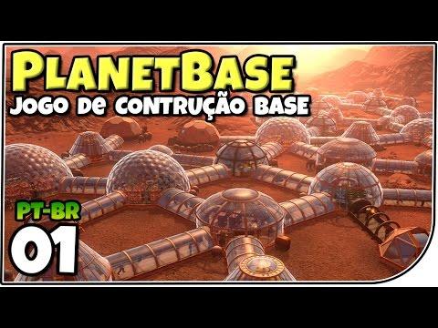 Planetbase - Jogo de Construção de Base! A côlonia dos Mortos! - Gameplay em Português (PT-BR)