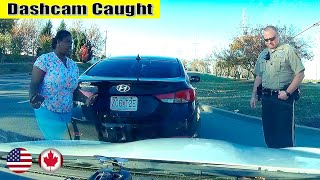 Ultimate North American Cars Driving Fails Compilation - 235 [Dash Cam Caught Video]