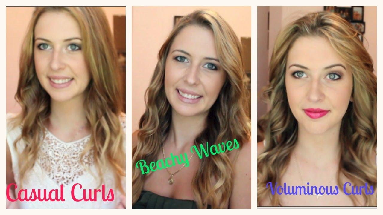 3 Ways To Curl Your Hair Spreadinsunshine15 Youtube