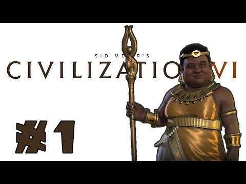 Let's Play: Civilization 6 - Nubia - Deity! - Part 1