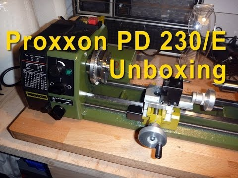 Proxxon md65 sd300 drehbank lathe new motor readout for Tornio proxxon fd 150 e 24150