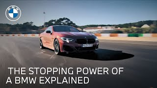 homepage tile video photo for BMW Brakes System: High Performance Stopping Power | BMW USA