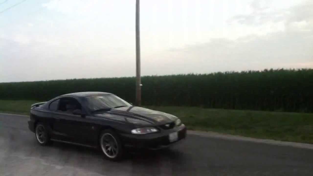 Terminator Mustang Supercharger Whine