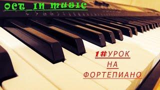 1#Урок на фортепиано. Моцарт-Мелодия ангелов