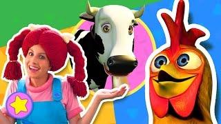 La vaca Lola | Aprender los animales con Bartolito | A Jugar