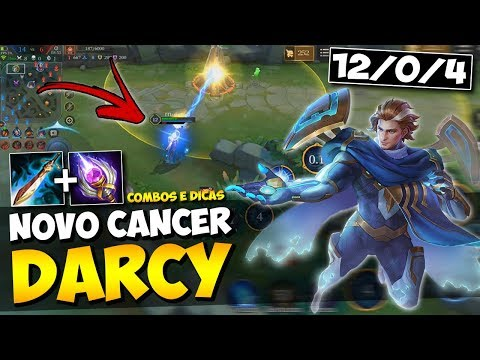 DICAS E COMBOS ! NOVO HEROI D'ARCY GAMEPLAY ARENA OF VALOR