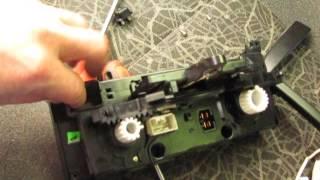 Подсветка блока управления отопителем