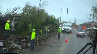 Pratt City, AL Tornado Damage 1
