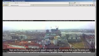 Live 360-degree 3dEYE-view from Hamburg using eight AXIS 211M Network Cameras