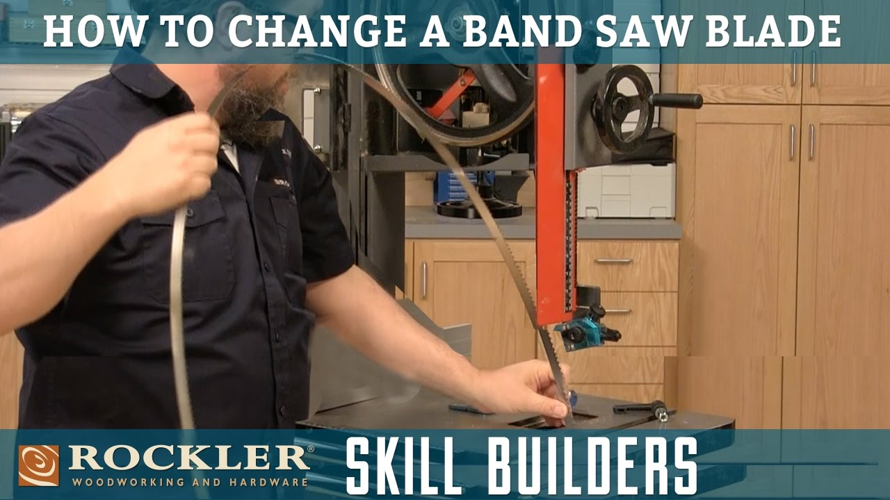 How to change a band saw blade rockler skill builders youtube how to change a band saw blade rockler skill builders keyboard keysfo Image collections