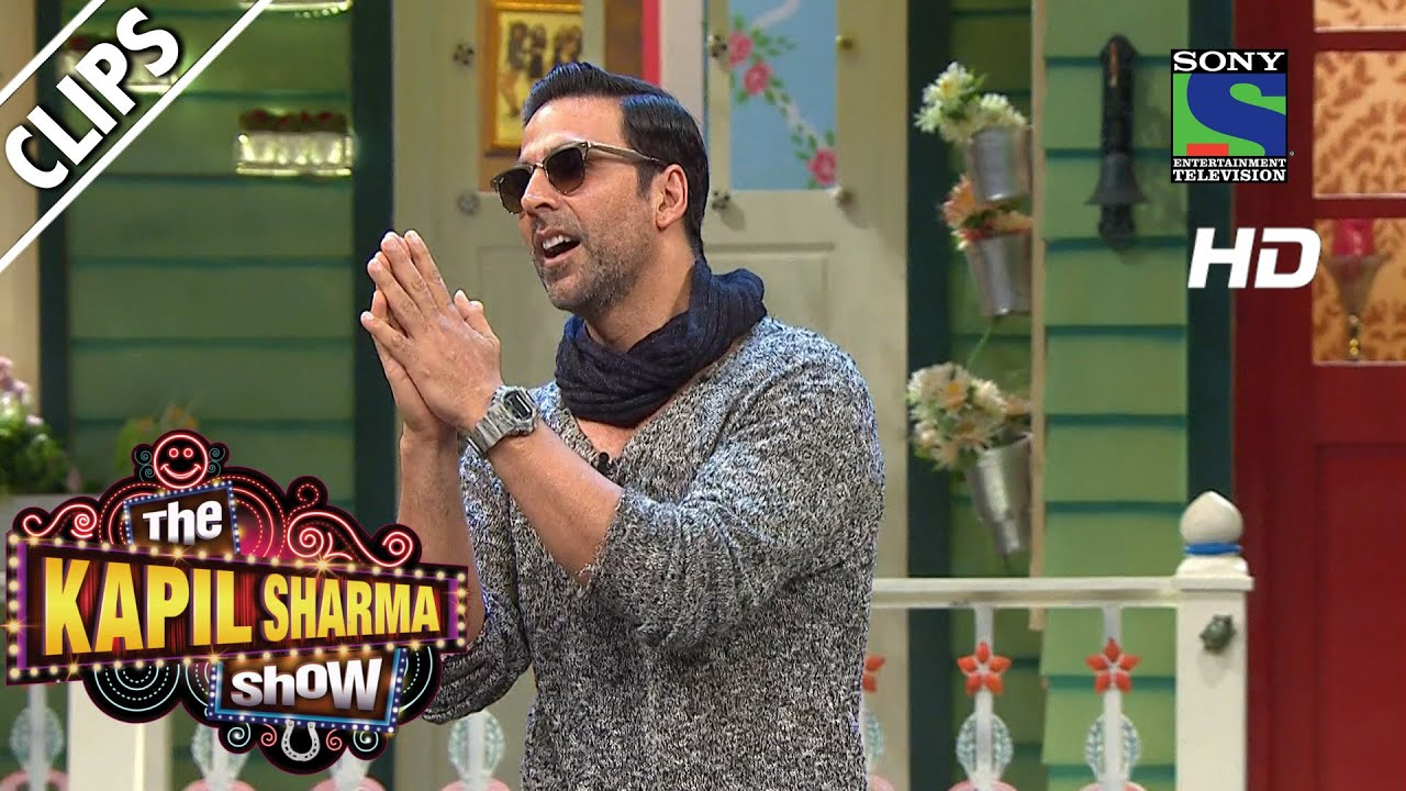 Kapil Welcomes Superstar Akshay Kumar to the show-The Kapil Sharma Show-  Episode 33-13th August 2016