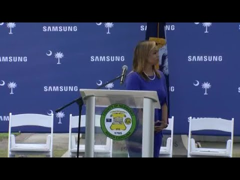 Samsung Newberry plant announcement