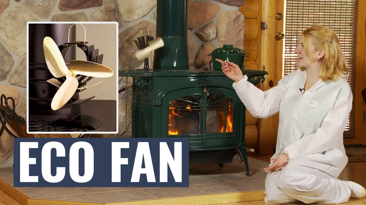 EcoFan AirMax Heat Powered Wood Stove Fan - Gold Colored Blades | Northline  Express - EcoFan AirMax Heat Powered Wood Stove Fan - Gold Colored Blades