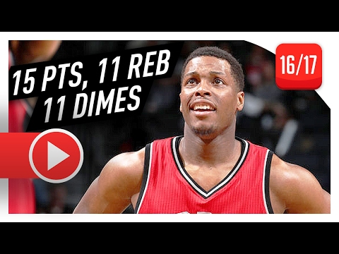 Kyle Lowry Triple-Double Highlights vs Nets (2017.02.04) - 15 Pts, 11 Reb, 11 Ast, BEST INTERVIEW!