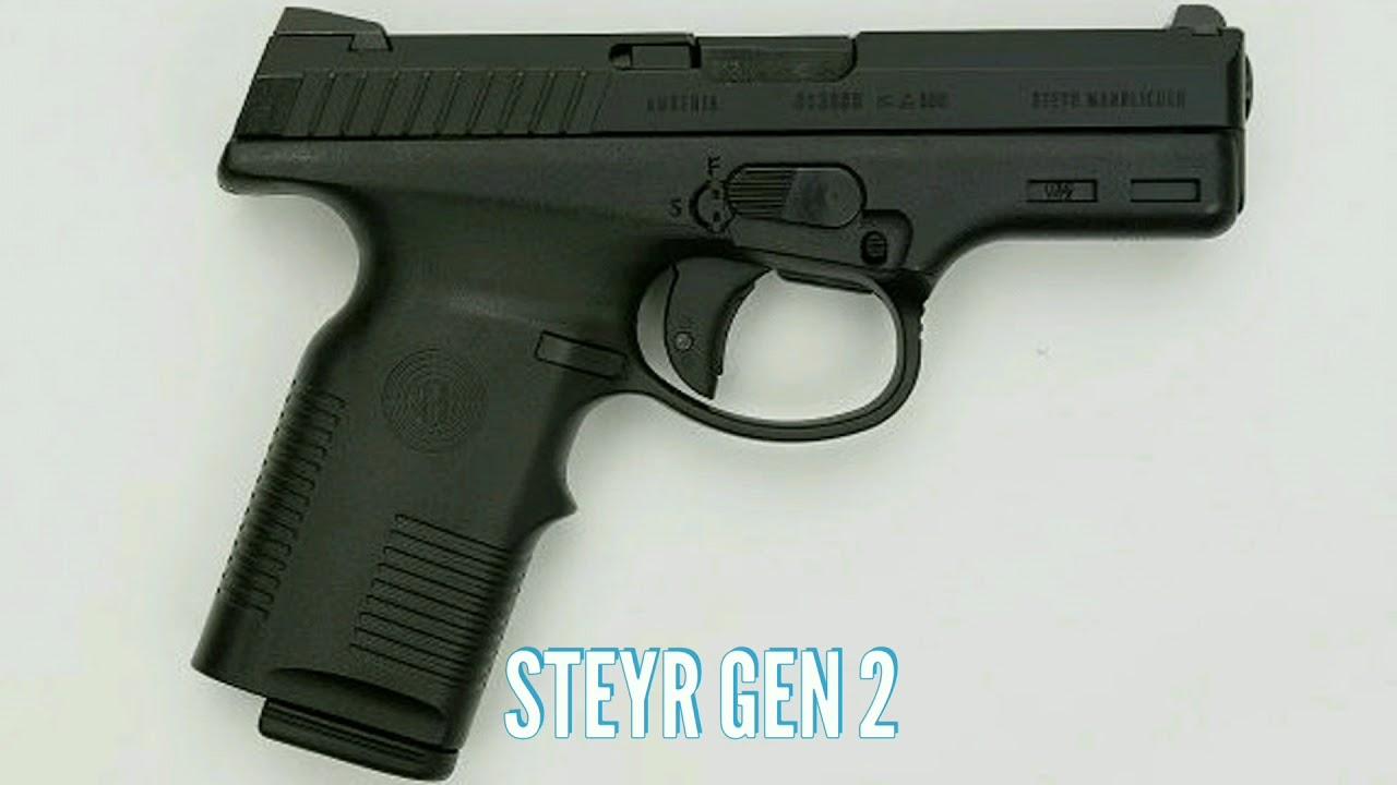 Steyr Pistols Generations Youtube