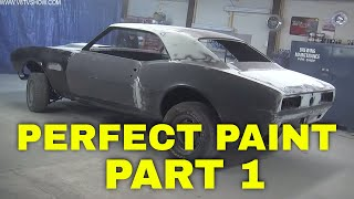 Tricks For A Perfect Paint Job: Transforming A 1967 Camaro Pt. 1 Video V8TV