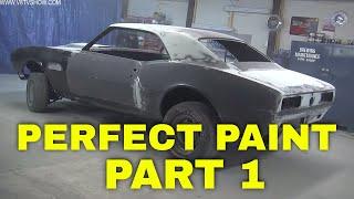 Tricks For A Perfect Paint Job: Transforming A 1967 Camaro Pt. 1 Video V8TV
