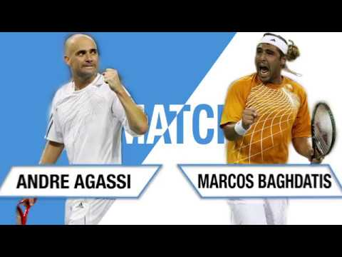 Unmatched: Agassi vs Baghdatis - US Open 2006