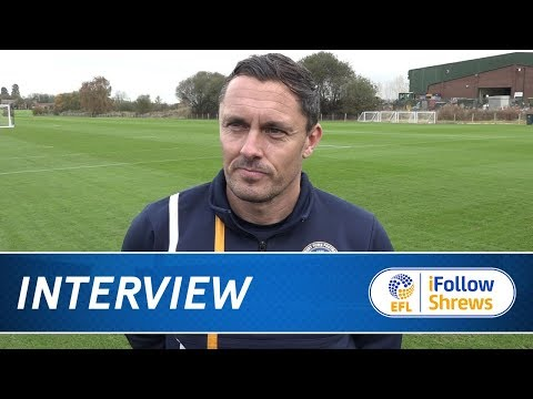 iNTERVIEW | Paul Hurst pre Aldershot - Town TV