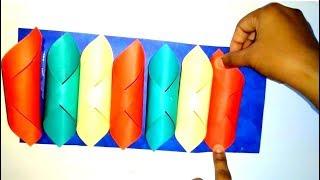 Coloured Paper Craft For Diwali- Tuber Tip