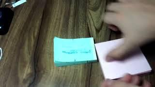 как нарисовать мультик на блокноте :)