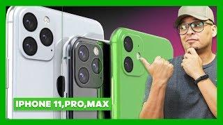 IPHONE 11, 11 Pro e 11 PRO MAX, O QUE ACHEI DOS NOVOS IPHONES!