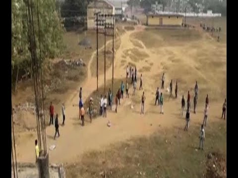 Clashes broke out between 2 groups regarding govt work-tender at Murshidabad